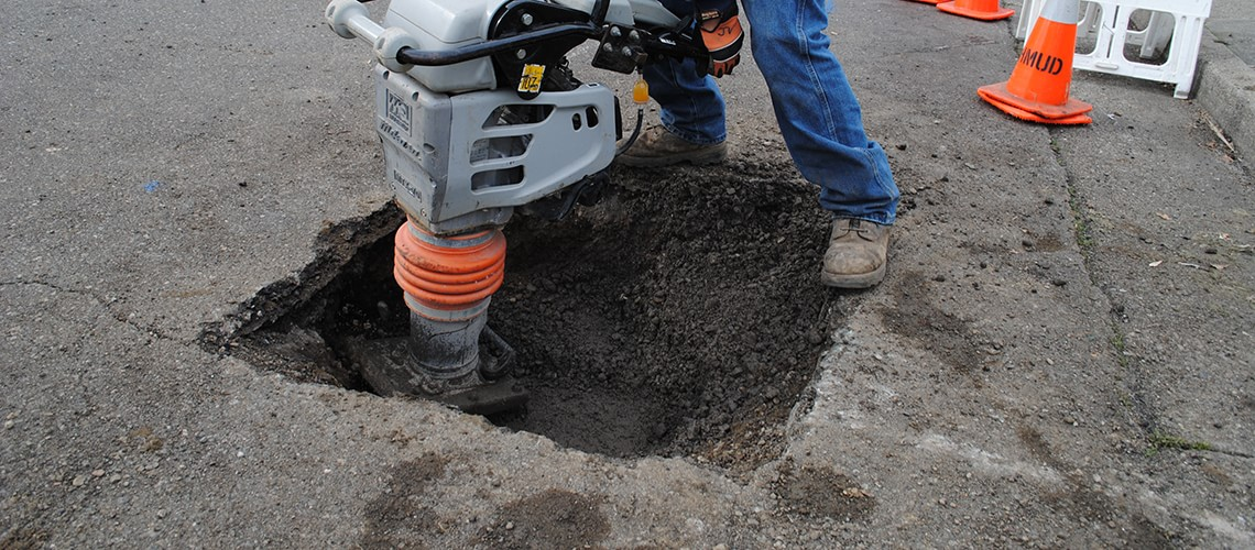 Proper Installation Of Ez Street Cold Patch Asphalt Is The